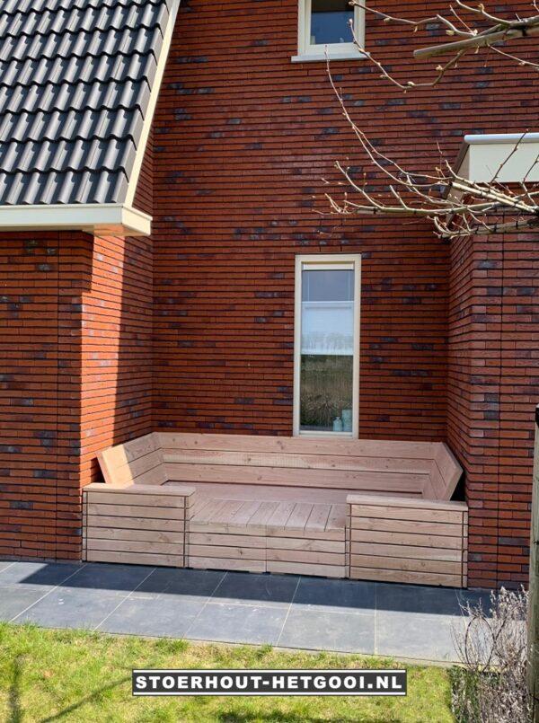 Op maat gemaakte multifunctionele loungebank en loungebed   Stoerhout-hetgooi.nl